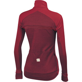 Sportful Giara Softshell Veste Femme, red rumba